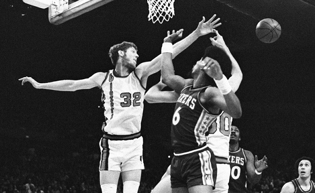 Bill Walton y Julius Erving