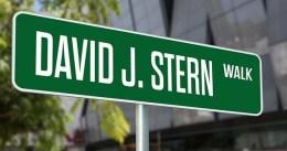 Los Kings quieren dedicarle una calle a David Stern