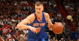 Los Knicks duermen en Playoffs gracias a un estelar Porzingis