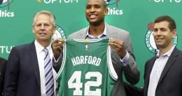 """Horford: """"Estoy aquí para ganar el campeonato"""""""