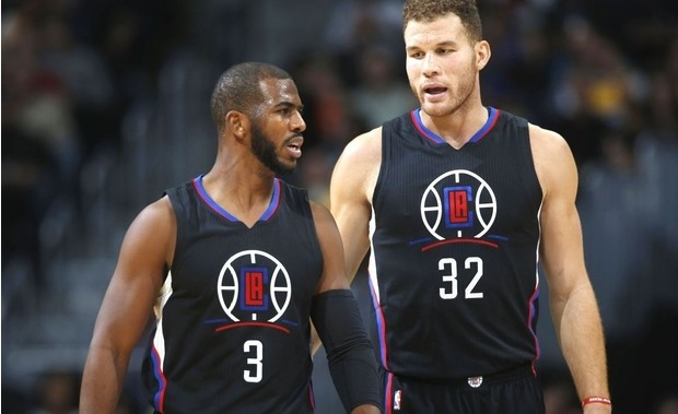 Chris Paul y Blake Griffin