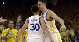 Los Warriors remontan 17 puntos y acarician la segunda ronda