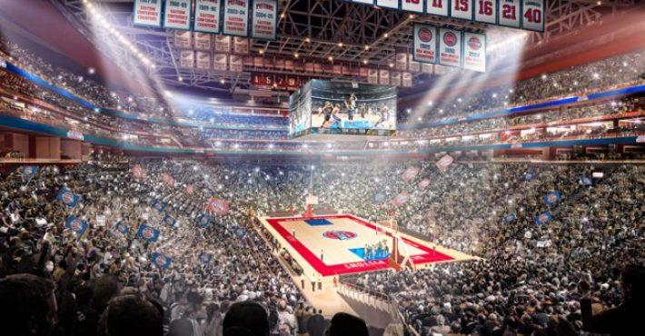Detroit Pistons presenta su nuevo pabellón