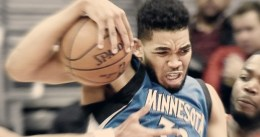 Primer triple-doble de Karl-Anthony Towns