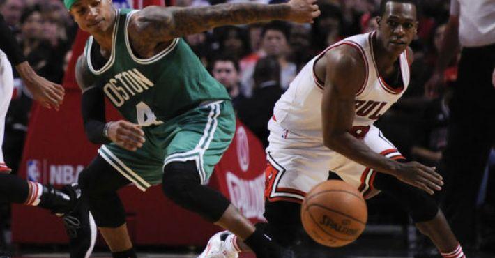 """Rondo: """"Sin mi lesión habríamos barrido a los Celtics"""""""