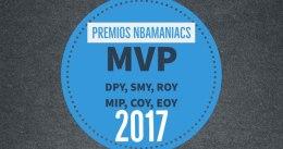 Premios nbamaniacs 2017: MVP, Defensor del año y más