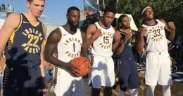 Los Pacers presentan sus uniformes