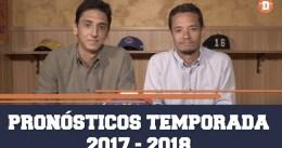 Drafteados: pronósticos de la temporada 2017-18