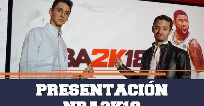 Drafteados: presentación NBA 2K18 en Madrid