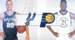 Pacers – Spurs, el duelo para el 'NBA Sunday' de hoy