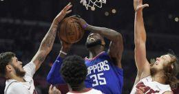 Clippers mueren en la orilla tras remontar 23 puntos ante Miami