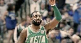 Los 47 puntos de Irving le dan la 16ª victoria seguida a Boston