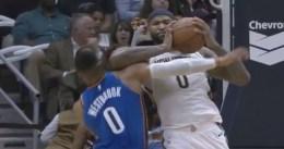 Triple-doble de Westbrook y expulsión de Cousins