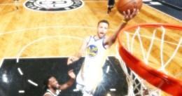 Curry: 39 puntos, mejor marca personal del curso y victoria ante los Nets