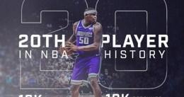Randolph, 20º de la historia en alcanzar los 18.000 puntos y 10.000 rebotes