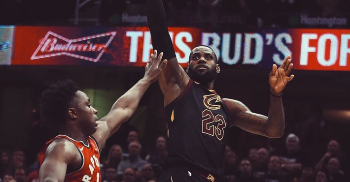 La canasta de LeBron James