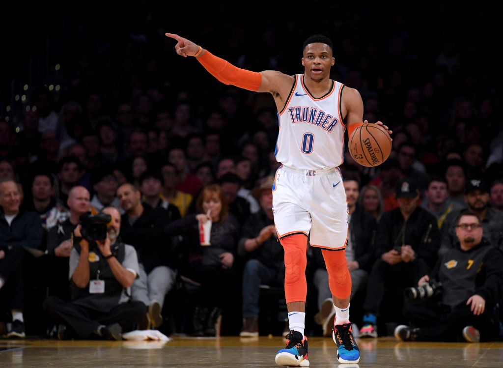 Russell Westbrook 20 20 20