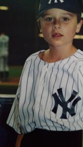 Overcoming odds. Me in the previous, BETTER Yankee Stadium.