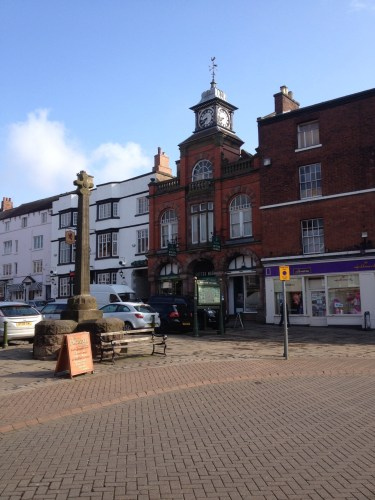 The market place Leek. weekly markets are held here, but not today