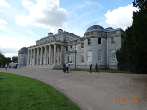 Entrance to Shugborough Hall