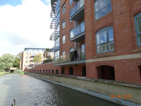 Prestigious development canalside. I wonder how much these cost.