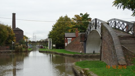 Hawkesbury junction Coventry canal view