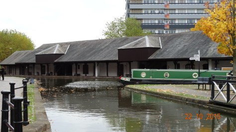 Extension of the wharf buildings