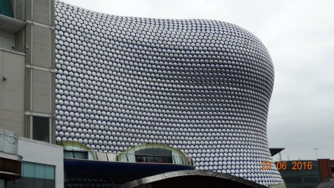 Bullring shopping area architecture