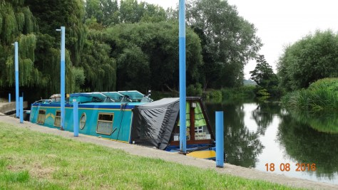 Craycombe turn trust moorings