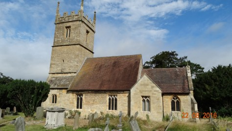The church at Great Comberton