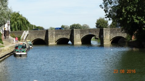 The Mythe bridge Tewkesbury