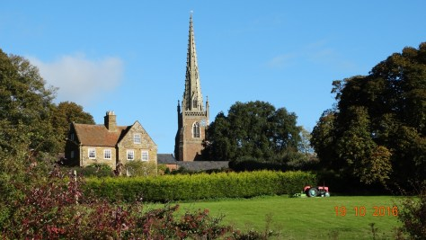 different view of Braunston church