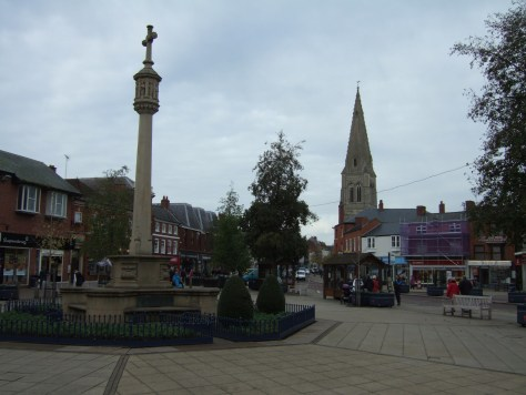 town centre Market Harborough