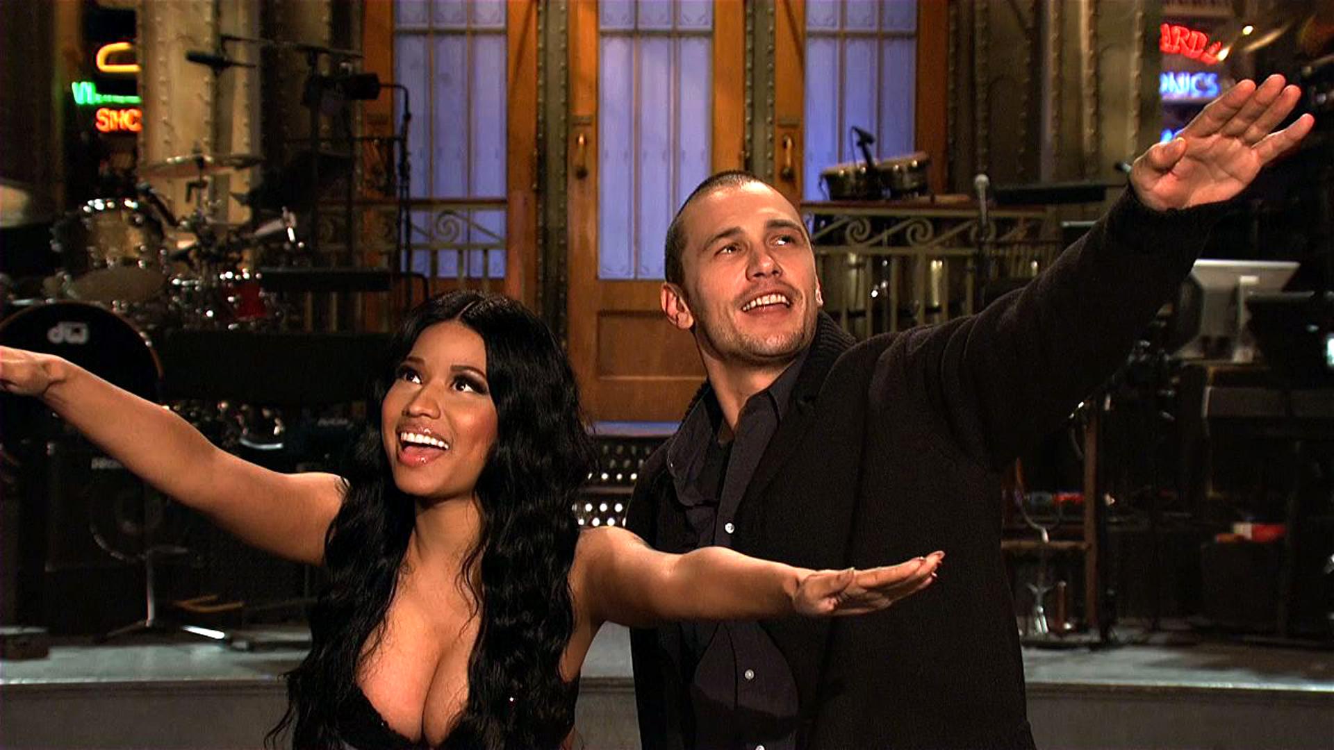 Watch SNL Promo James Franco And Nicki Minaj Are Best