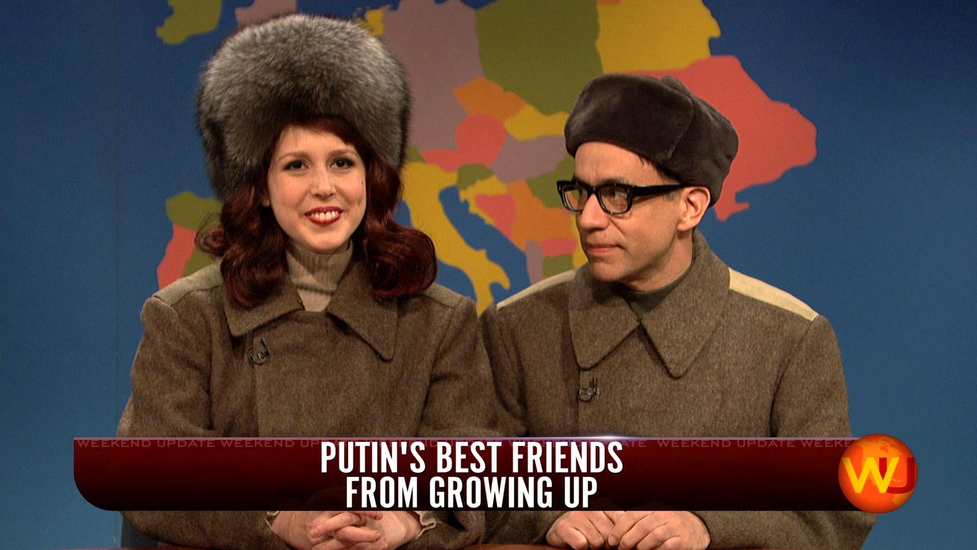 Watch Weekend Update Vladimir Putins Best Friends From