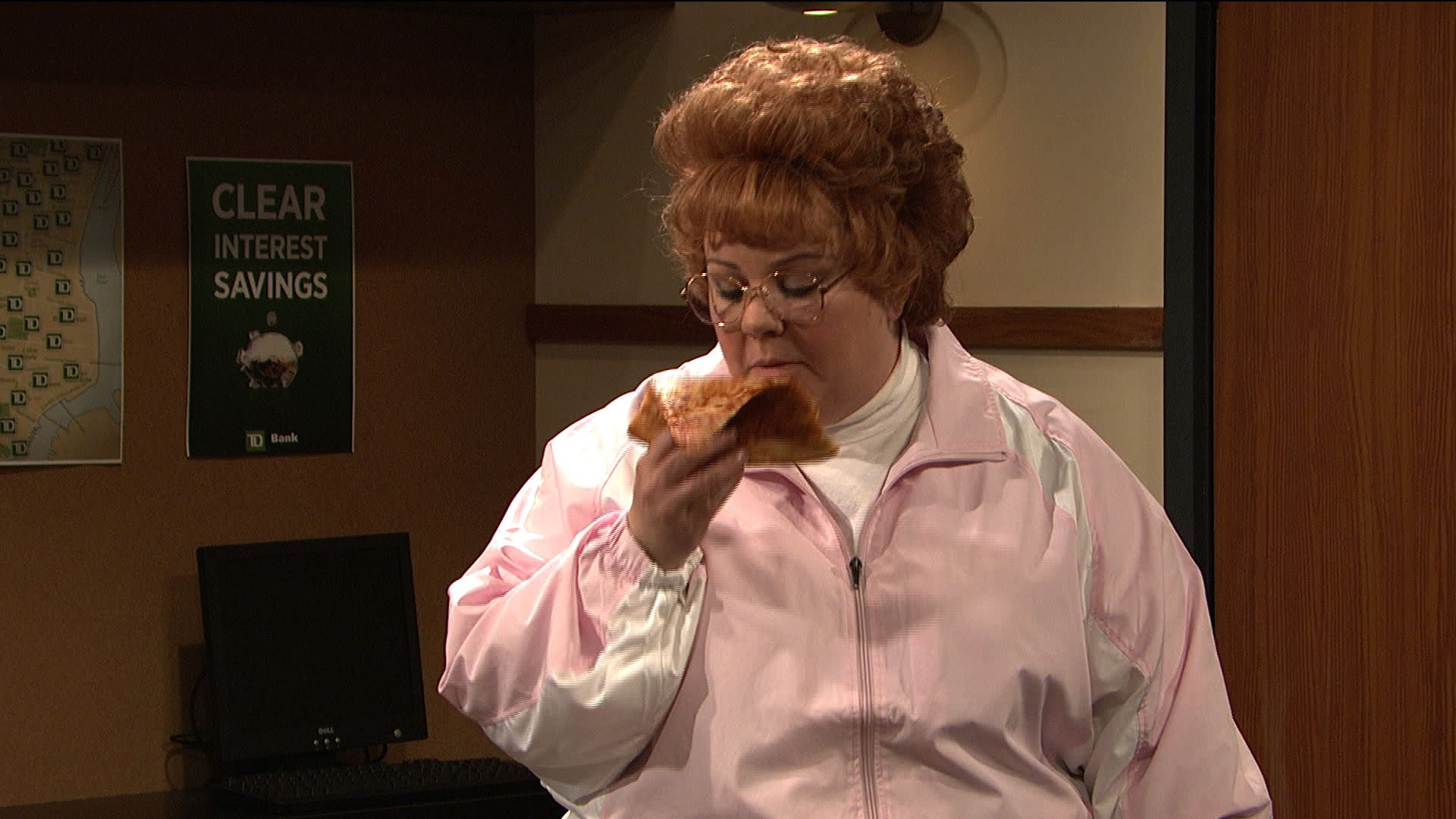 Watch Pizza Eating Business From Saturday Night Live
