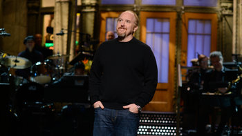 Host Louis C.K. returns to Saturday Night Live and talks about his daughter's play, first world hunger and his faith.