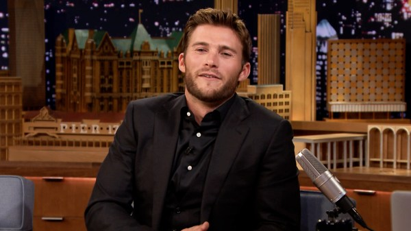 Scott Eastwood Bull Rides in Real Life - The Tonight Show