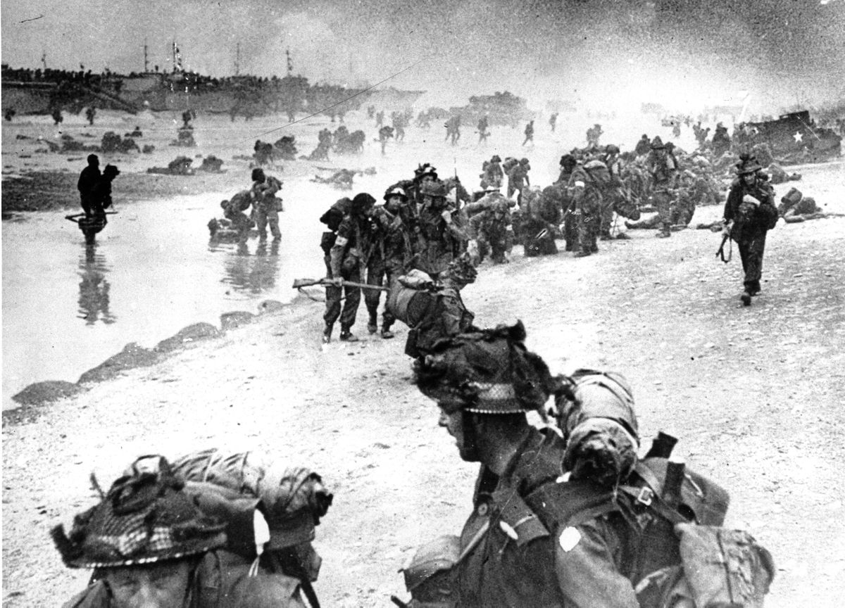 On This Day D Day Invasion Of Normandy