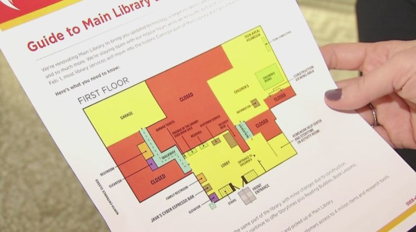 Main Library Branch To Close During Renovations (Image 1)_8115