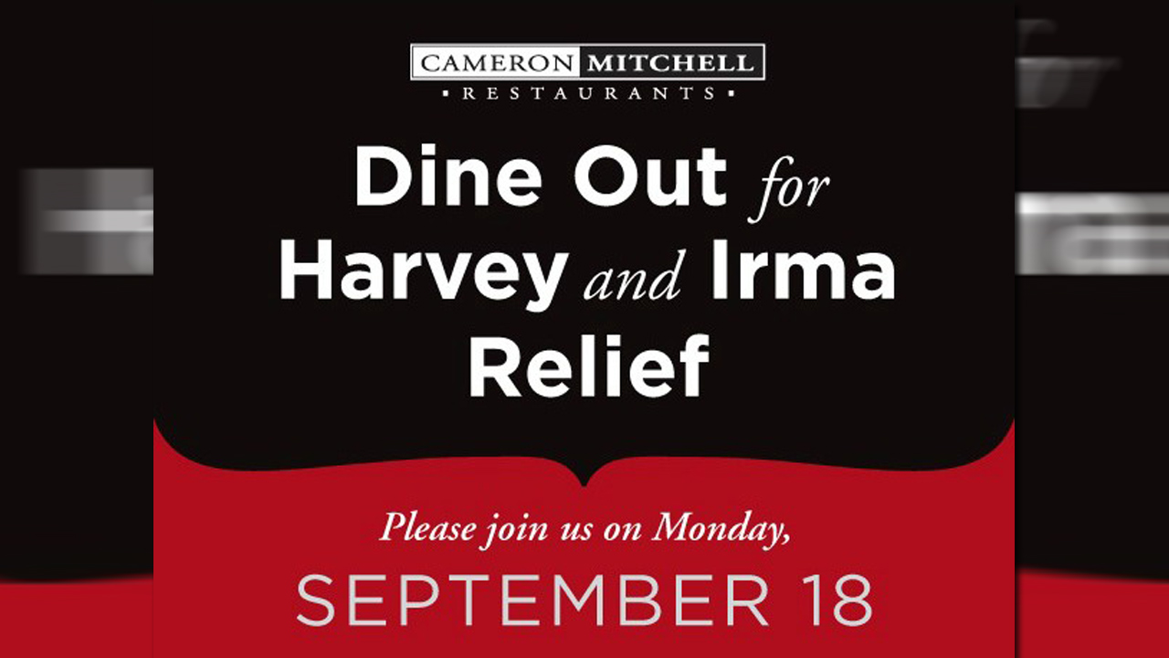 Cameron Mitchell Restaurants Will Donate All Profits Monday