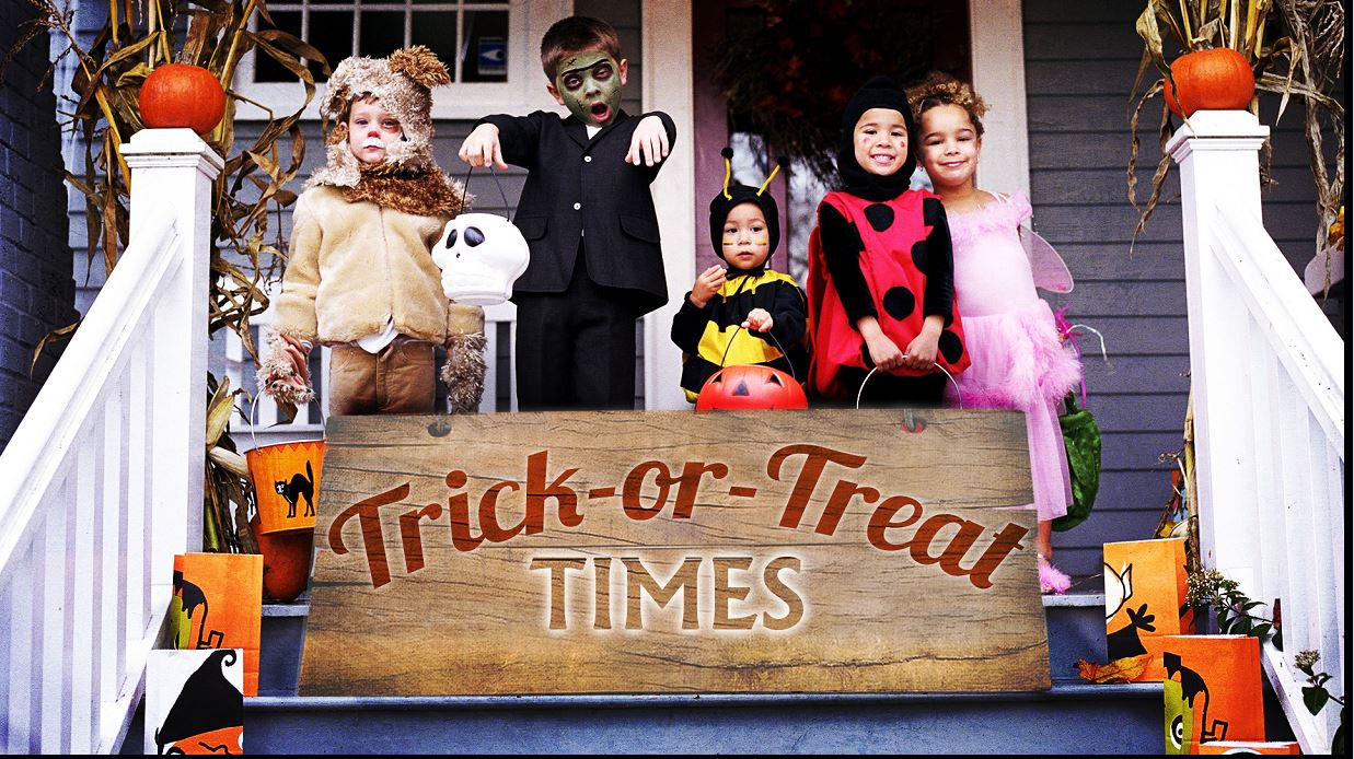 Central Ohio Trick Or Treat Times