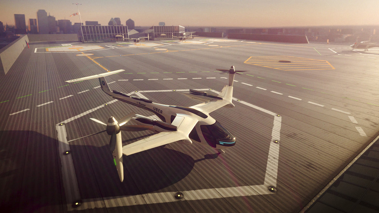 Uber Flying Taxi_364283