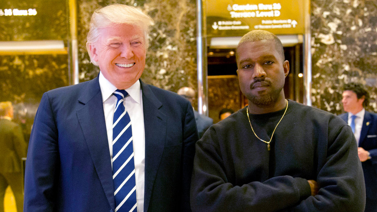Kanye West, Pres  Trump trade compliments on Twitter