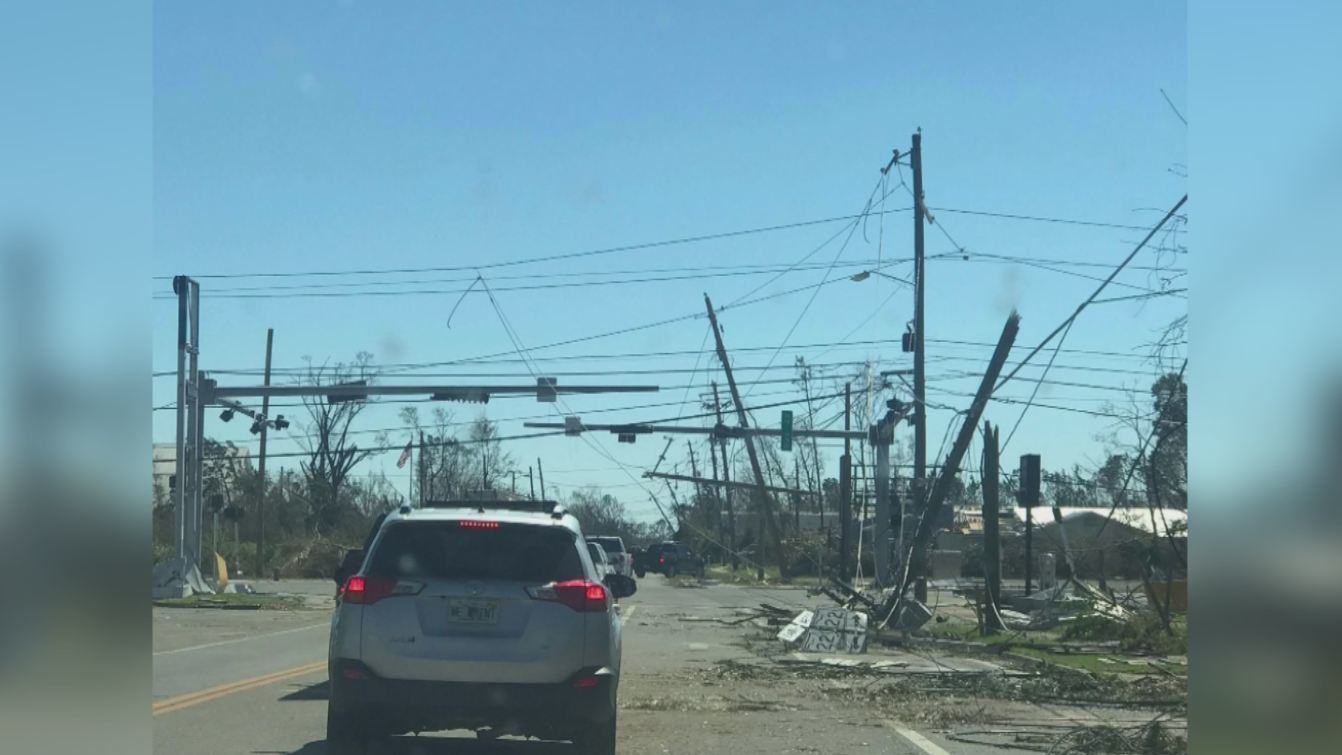 AEP Ohio crews working to restore power in areas affected by Hurricane Michael