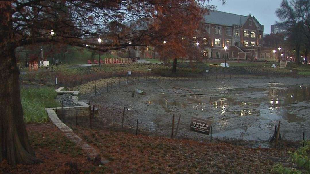 Students cited for trespassing after jumping into Mirror Lake