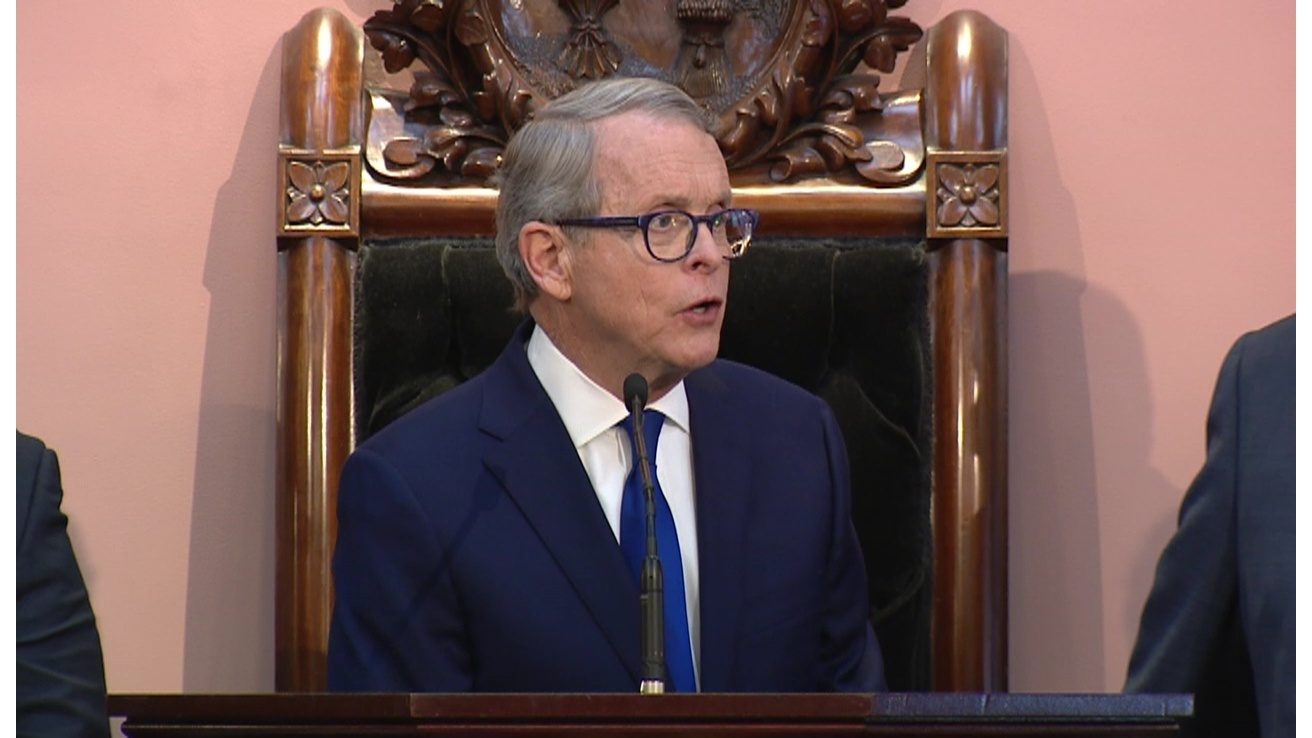 DeWine delivers State of the State, speaks of harsh realities and hopeful outcomes