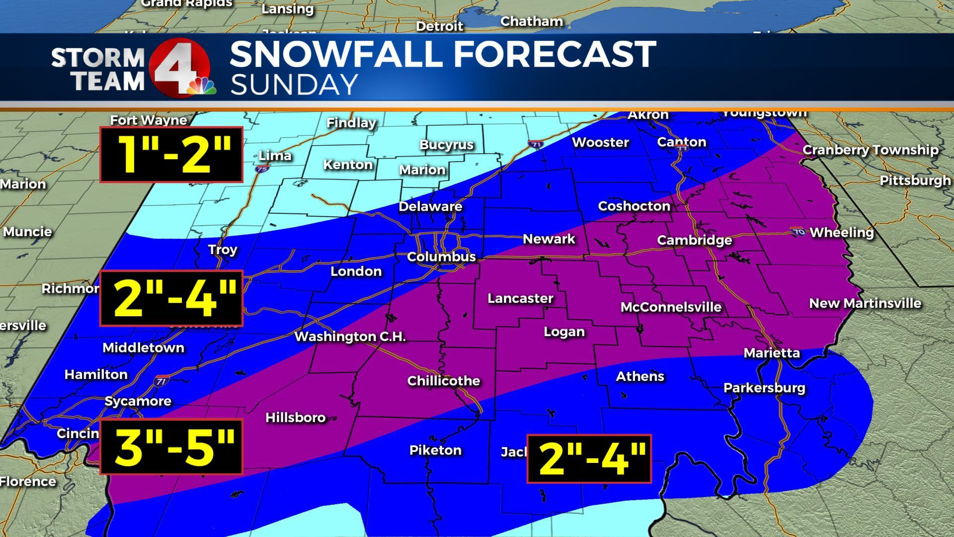 March brings in a possible record snowfall in 1st weekend