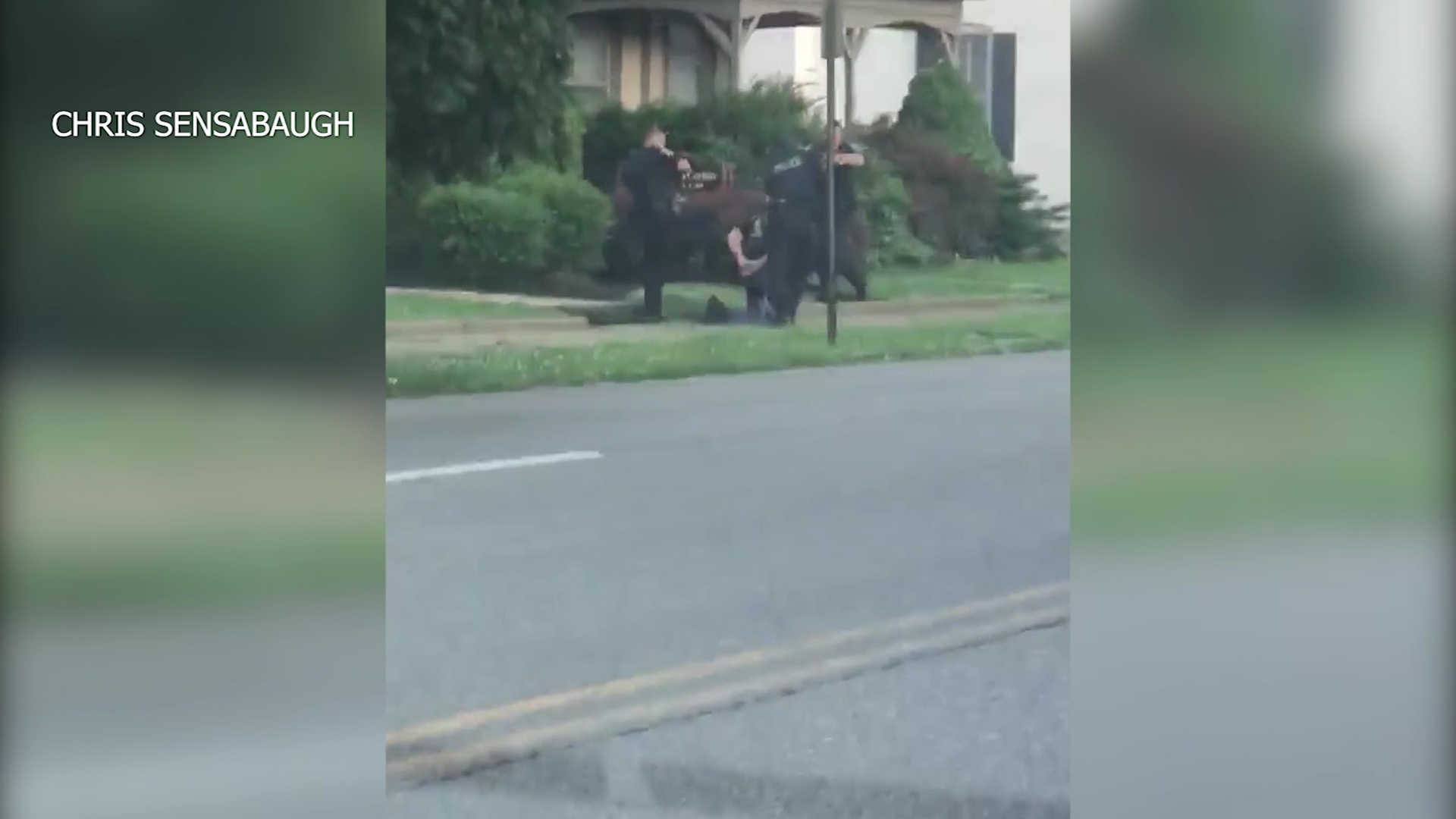 Neighbors question police use of force in subduing a man, 80, with a gun