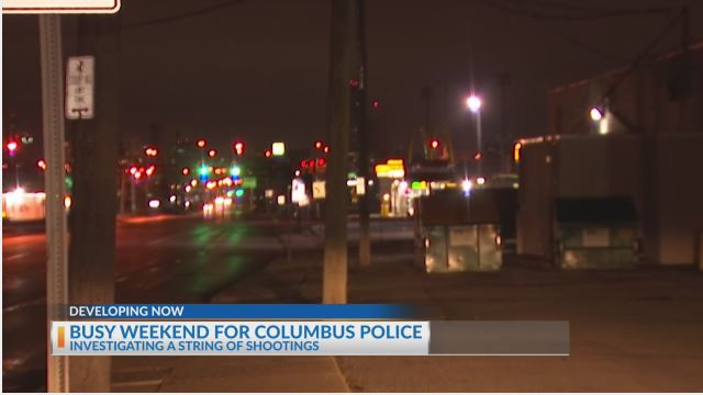 Busy weekend for Columbus police